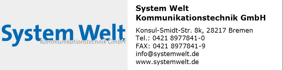 System Welt