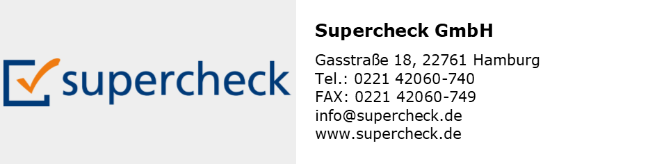 Partnerlogo Supercheck